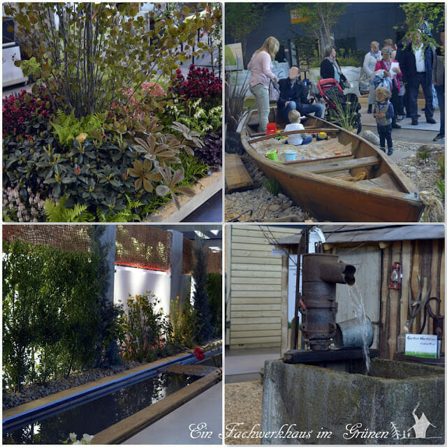 Gartengestaltung auf der Gartenmesse Stuttgart