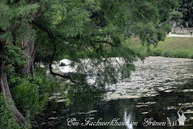 Schloss Dyck, Parkanlage, Wasserlauf