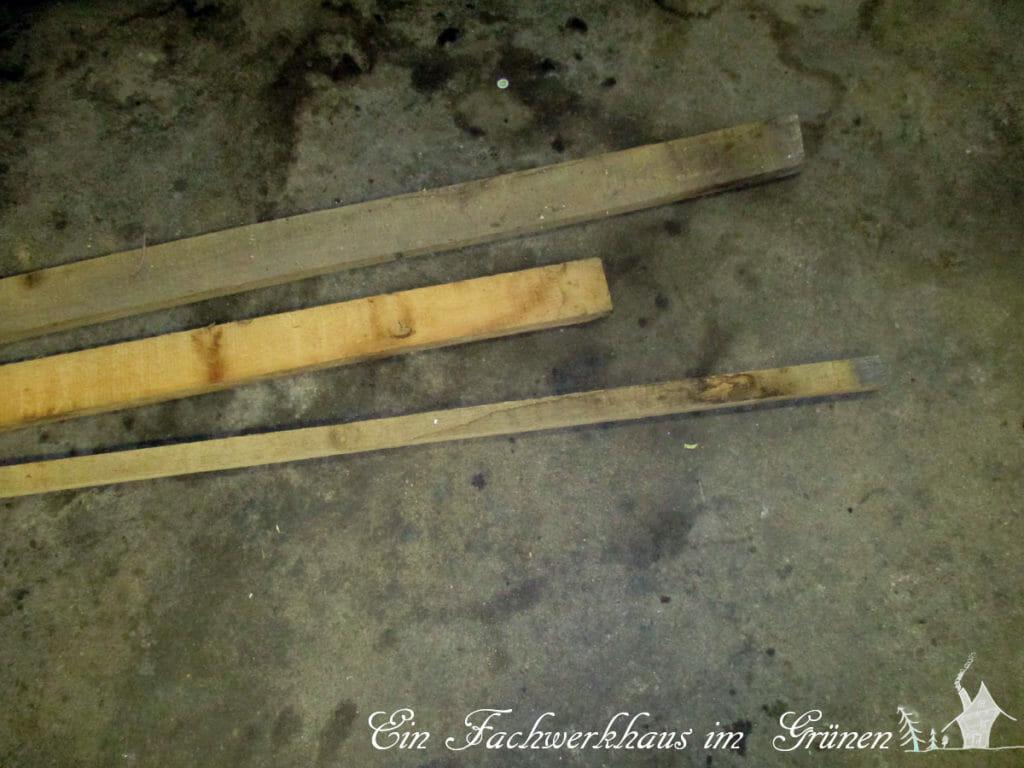 Diese Reste werden für die Schmuckstelen verwendet