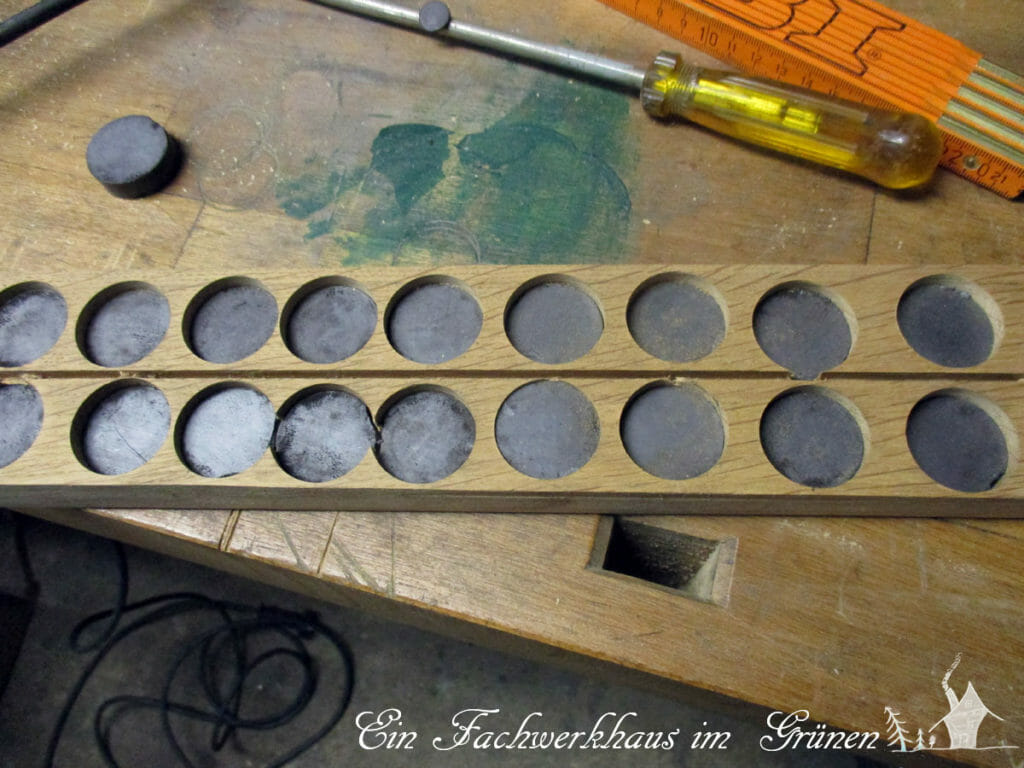 Messerleiste, Magnetmesserleiste, DIY