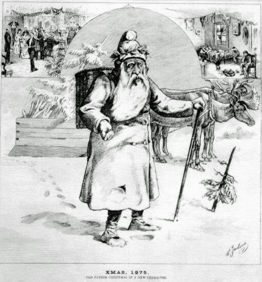 Weihnachtsmann, 1875, XMAS