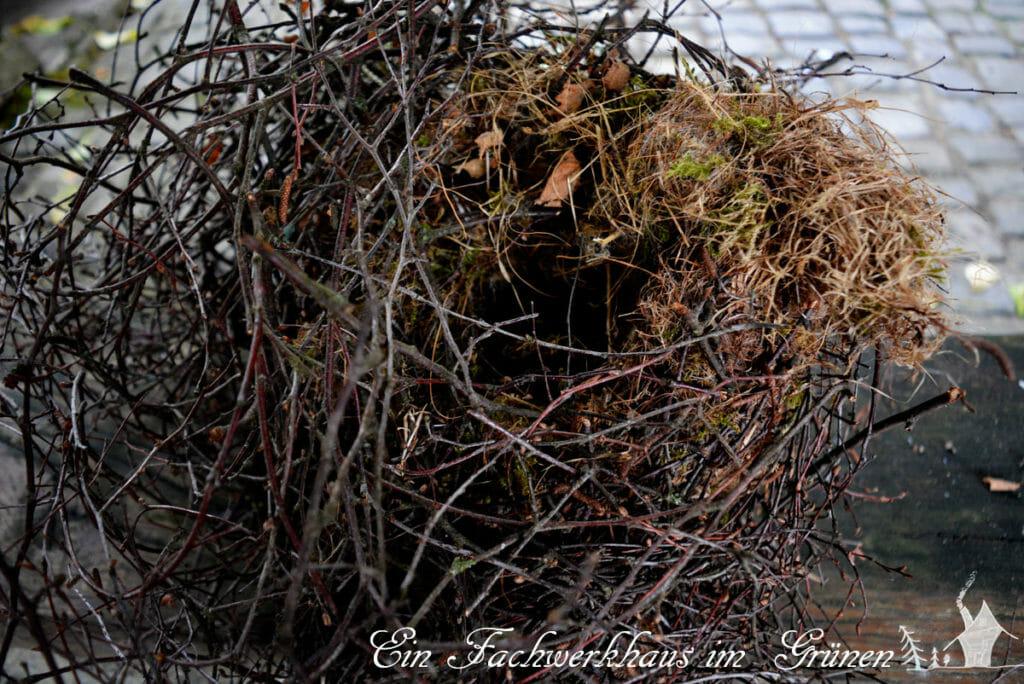 Das Nest, das vom Himmel fiel gehörte wahrscheinlich Elstern