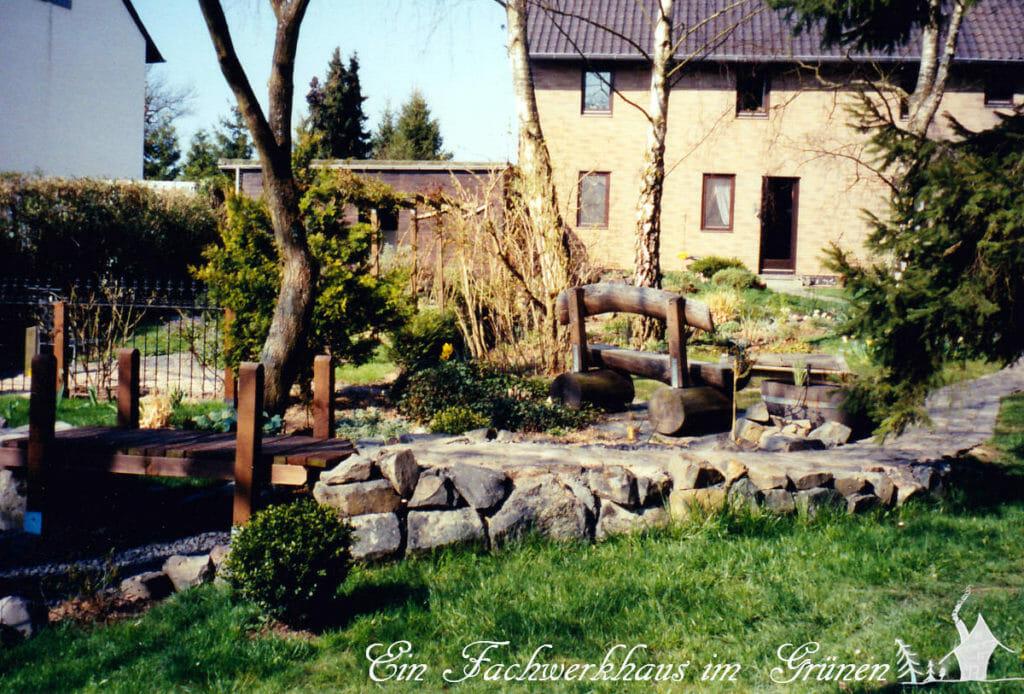 Der Garten früher