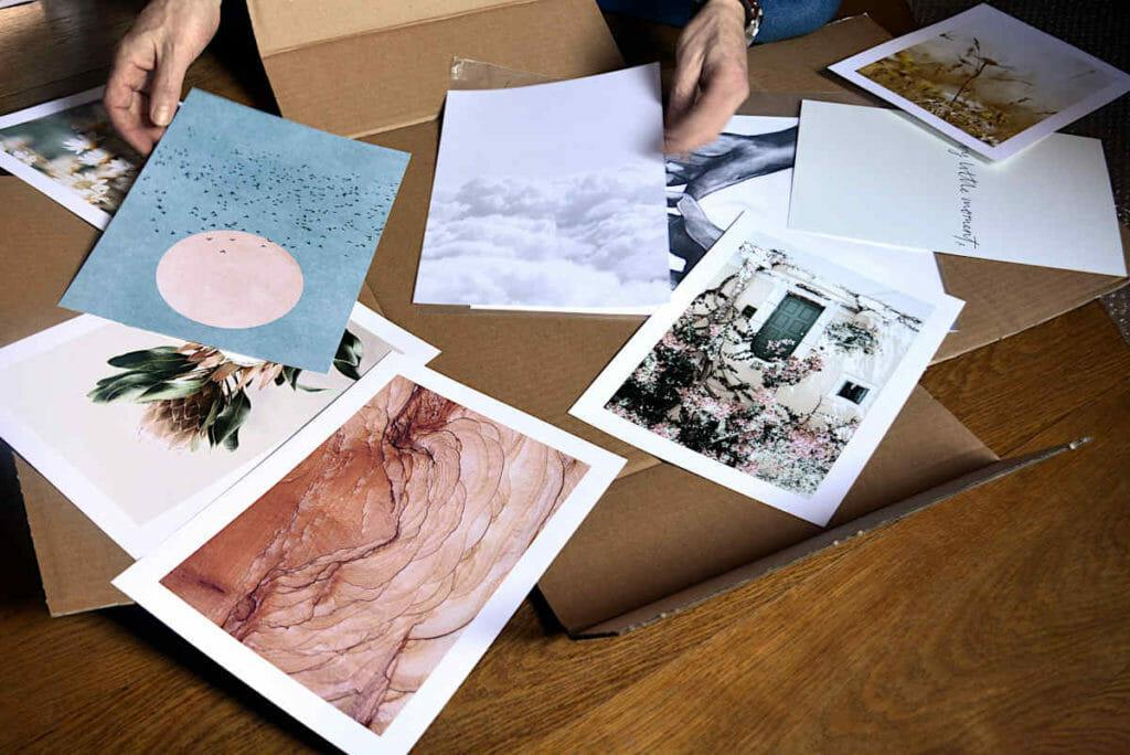 Die Bilder vom Poster Store sind da.