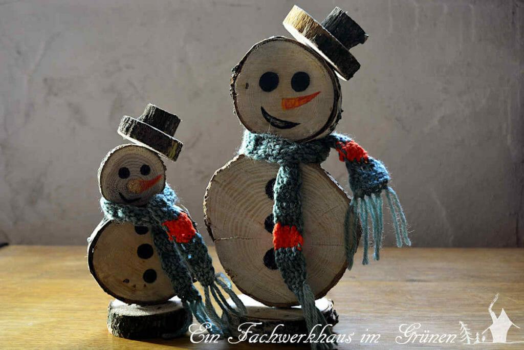 So können die Schneemänner auf ihre Reise gehen.
