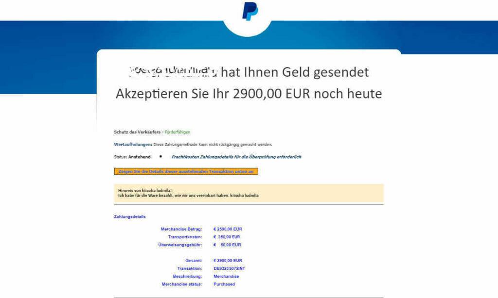 Betrug im Internet bei ebay Kleinanzeigen