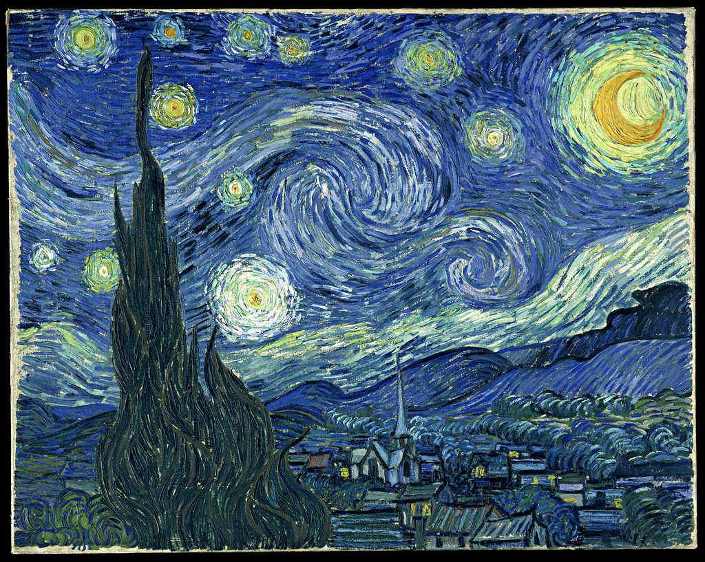 Van Gogh Sternennacht